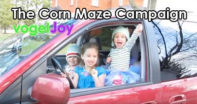 The Corn Maze Campaign vogeljoy
