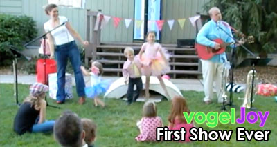 first show ever vogeljoy