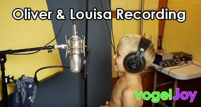 oliver and louisa recording vogeljoy