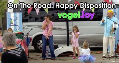on the road happy disposition vogeljoy