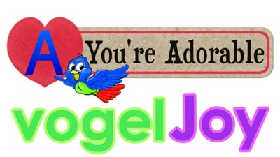 A You're Adorable vogeljoy