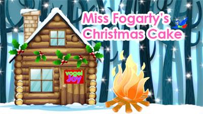 Miss Fogarty's Christmas Cake vogelJoy