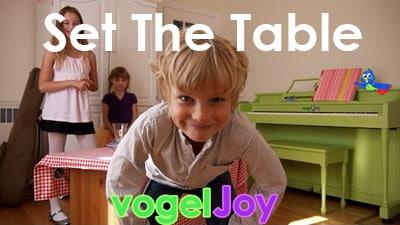 Set the Table vogeljoy