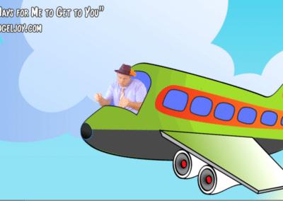 vogeljoy 100 Ways Terry flying a Jet